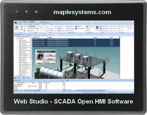 Web Studio - SCADA Open HMI Software