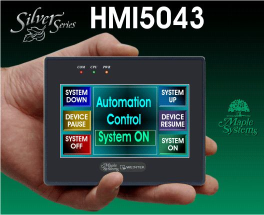 COMPACT Graphic HMI - Maple Systems