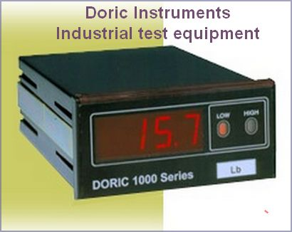 Doric Instruments - Industrial test equipment