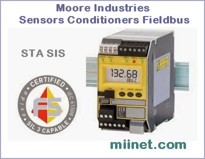 Moore Industries - Sensors Conditioners Fieldbus