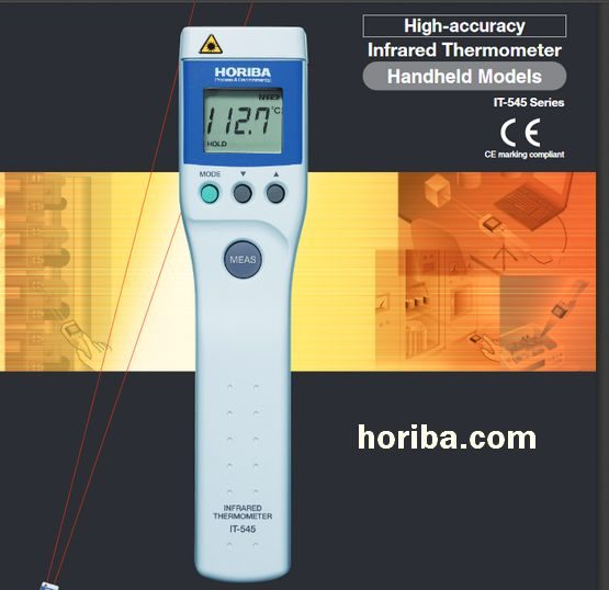 Non-Contact Infrared Thermometers - Horiba