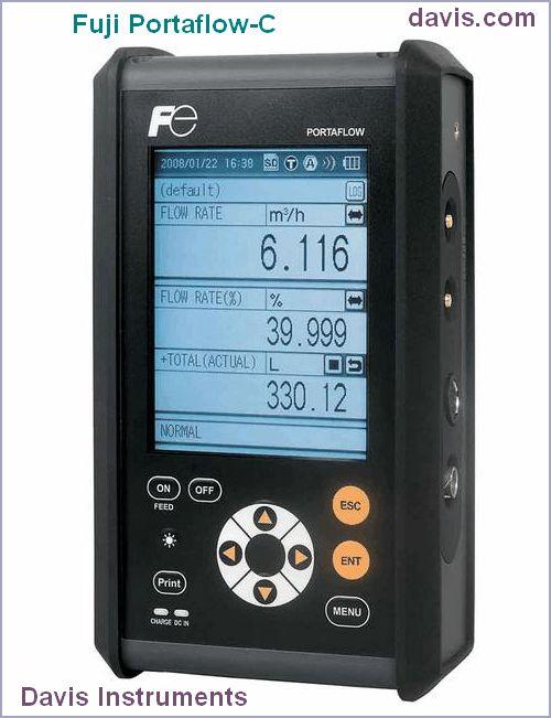 Portaflow-C Portable Transit Time Flowmeter
