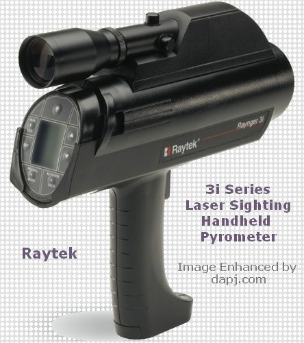 3i Series - Laser Sighting - Handheld Pyrometer - Raytek
