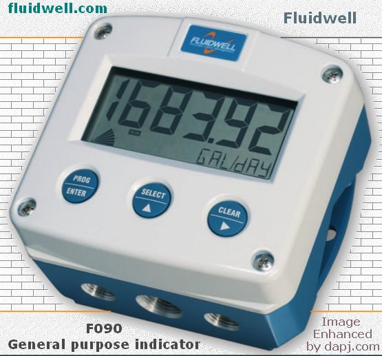 F090 General purpose indicator - Fluidwell