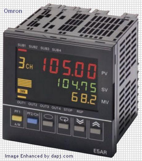 E5AR Digital Controllers - OMRON