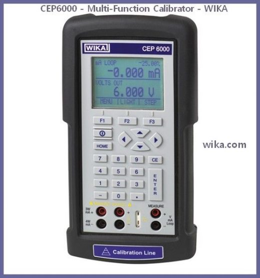 CEP6000 - Multi-Function Calibrator - WIKA