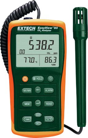 Indoor Air Quality Meter EA80 - Extech